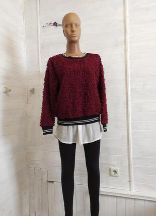 Красивый свитер,твинсет