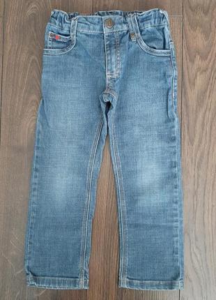 Детские джинсы bimbus на мальчика 4 лет 104р.