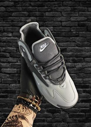 Мужские демисезонные кроссовки nike zoom 2k gray.
