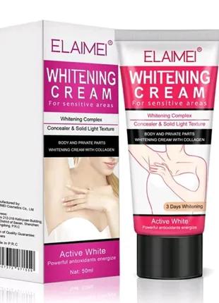 Осветляющий крем для тела Elaimei