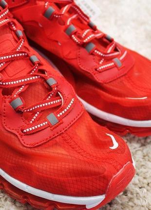 Мужские кроссовки nike air max x react element red.