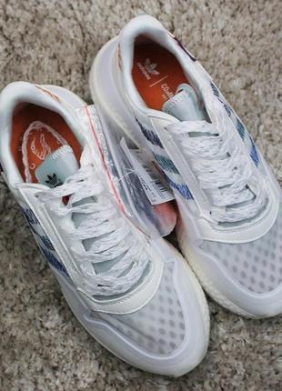 Женские летние кроссовки adidas commonwealth white.