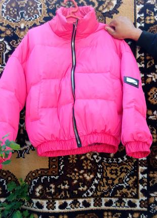 Ультра легкая пуховая курточка