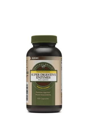 GNC Super Digestive Enzymes 100 капсул