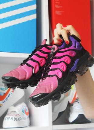 Мужские кроссовки nike vapormax tn pink violet.
