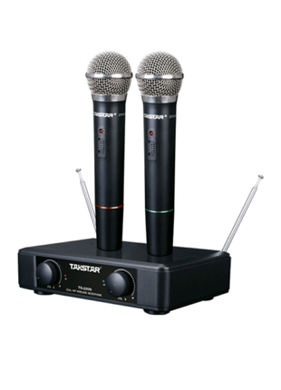 Радиосистема Takstar TS-2200 это беспроводная микрофонная система
