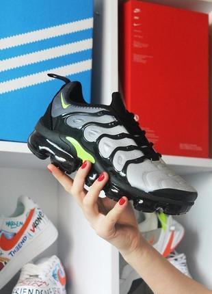 Мужские кроссовки nike vapormax tn gray black.