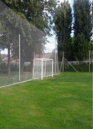 Защитно-улавливающая сетка ,ячейка 100/100мм,толщина 5мм.