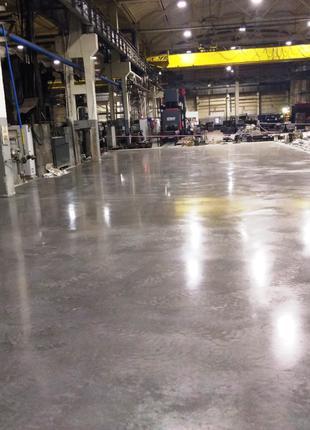Промышленные бетонные полы (топпинг, наливные, полимер)