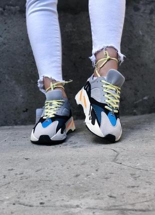 Женские кроссовки adidas yeezy wave runner 700