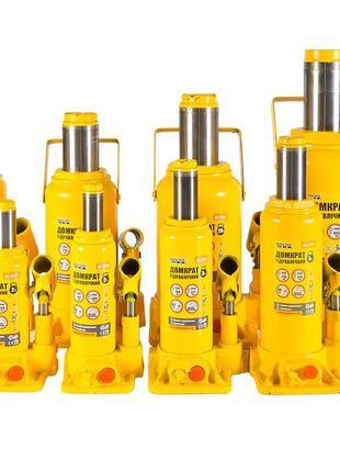 Домкрат гидравлический бутылочный подкатной 2, 3, 5, 10, 15, 2...