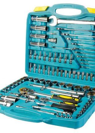 Набор инструментов, головок, бит, ключей 95 шт хром-ванадий 78...