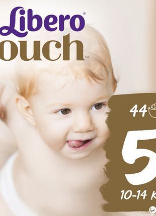 Libero touch 5 44шт, підгузники, памперси, подгузники.