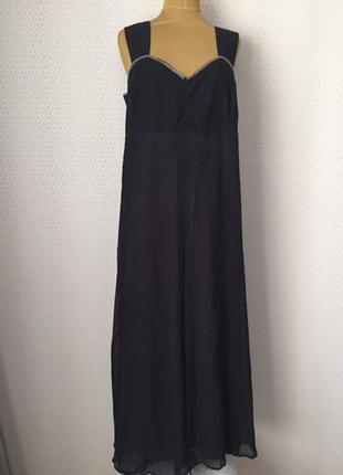 Новое (с этикеткой) вечернее платье - сарафан размер нем 56, у...