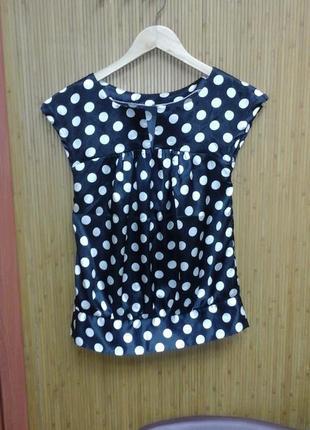 Блузка женская из шёлковой ткани