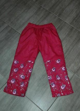 Штаны для девочки 5-6 лет