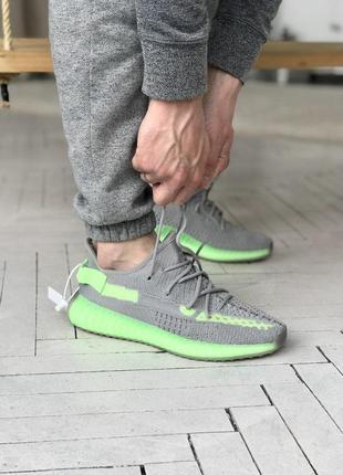 Кроссовки мужские adidas yeezy 350 v2 🌶