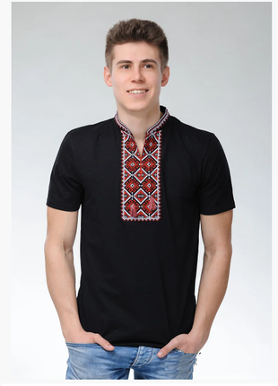 Вышиванка футболка мужская, вишиванка чоловіча