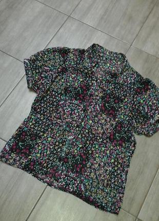 Блузка женская из полупрозрачной ткани