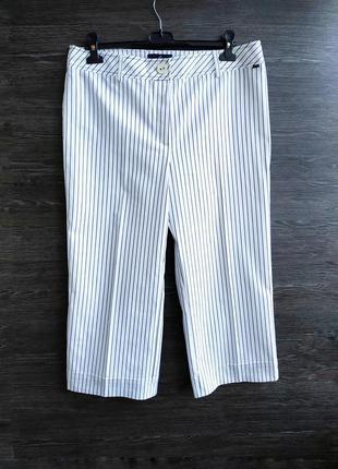 Укороченные брюки кюлоты в полоску daniel hechter.