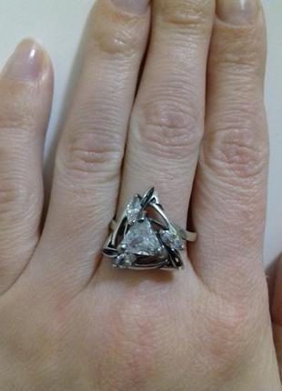 Серебряное кольцо арабика 19р