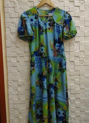 Платье женское летнее  трикотажное