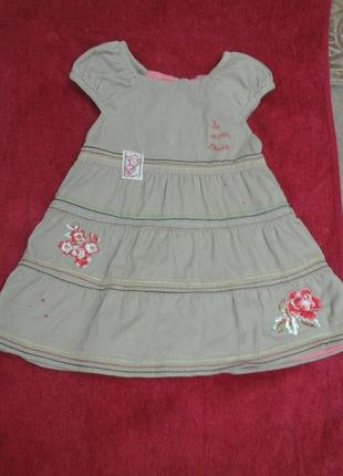 Платье tissaia для девочки 1-2 лет