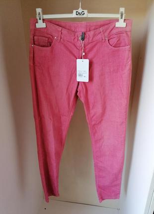 Новые сток зауженные джинсы naf naf (к081)