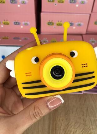 Детский фотоаппарат Smart Kids Camera. Фронтальная камера. Жёлтый