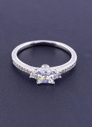 Кольцо 'xuping' фианит (родий) 0906990
