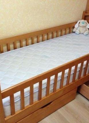 Одноярусная кровать Карина с ящиками.
