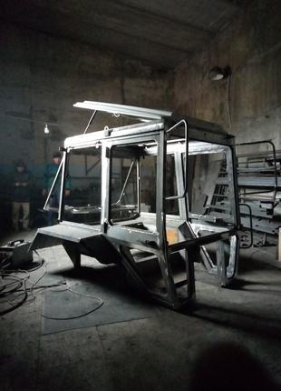 Комплектная кабина большая  УК  для трактора МТЗ-80/82