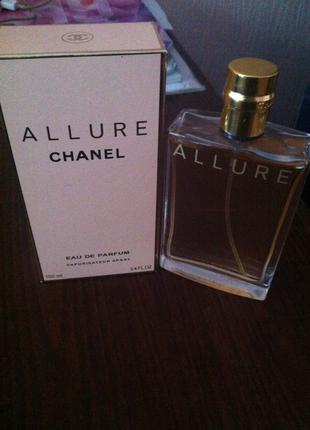 Chanel Allure pour femme 100 мл, шанель аллюр, женские духи