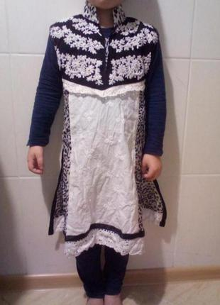 Туника платье на 2-4 годика