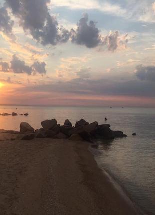Отдых на побережье Азовского моря в курортном городе Приморск