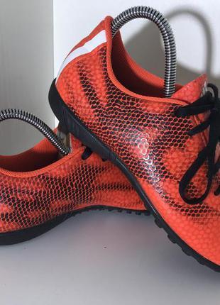 Детские сороконожки ( бампы) adidas f5 ( адидас 36 2\3рр 23см )