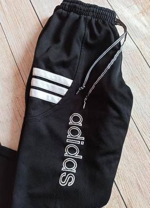 Штаны adidas vintage адидас винтаж зауженные l спортивные