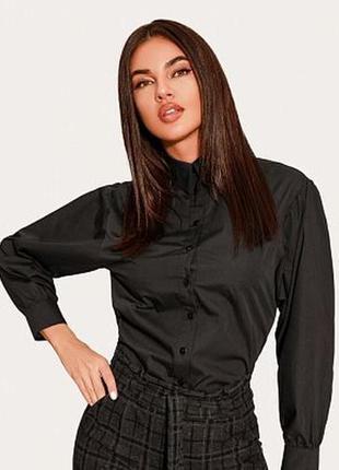 Чорна базова сорочка , рубашка orsay