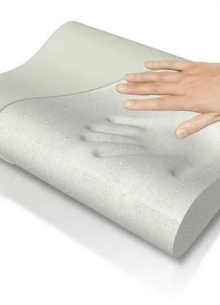 Ортопедическая подушка с памятью Memory Foam Pillow / Здоровый Со