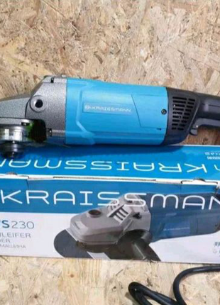 Болгарка KRAISSMANN 2700-KWS-230