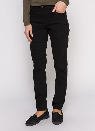 Черные женские джинсы denim от blue motion, германия, р.36