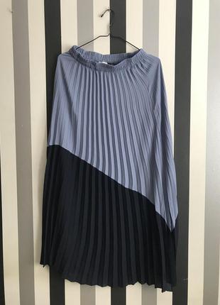Длинная плиссированная юбка only