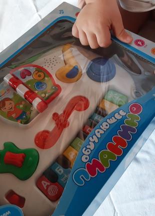 """Детская игрушка """"Обучающее пианино"""""""
