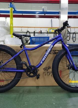 Спортивный велосипед внедорожник Fat Bike 26 дюймов синий