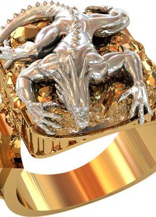 Перстни с фигурками животных Новые серебряные мужские перстни 925