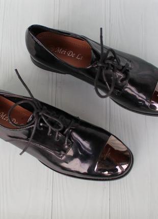 Туфли на шнурках, оксфорды, броги, дерби 38, 39, 40 размера