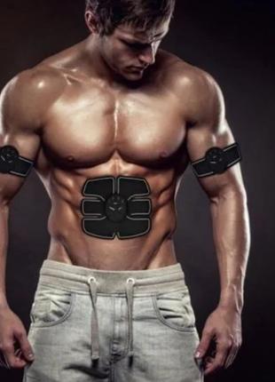 EMS-Тренинг /  пояс 3 в 1 + на руки  / тренажер для похудения