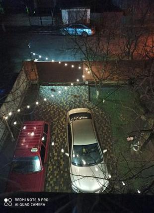 Гирлянда уличная светодиодная 10 метров