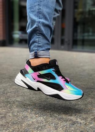 Стильные мужские кроссовки nike m2k tekno цветные