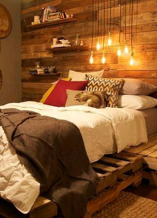 Кровать,спальни, гостиные из поддонов,паллет в стиле лофт